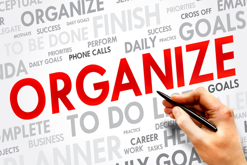 Get Organized to Increase Productivity